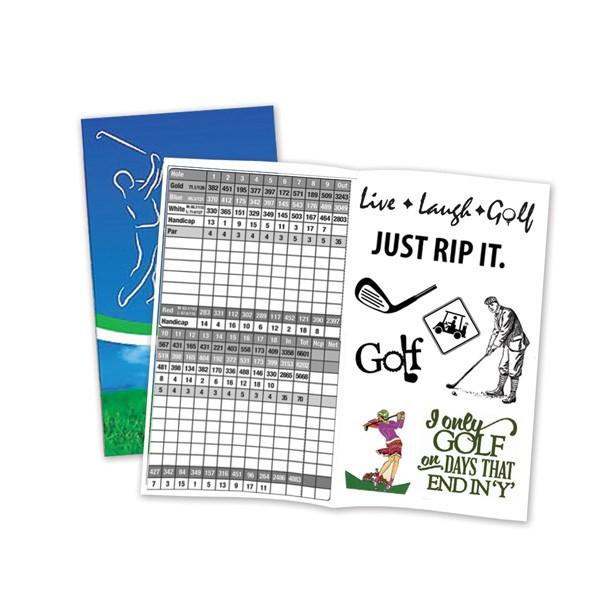 sample golf card